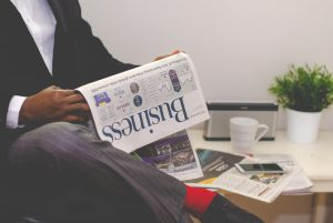 Reading Business newspapers