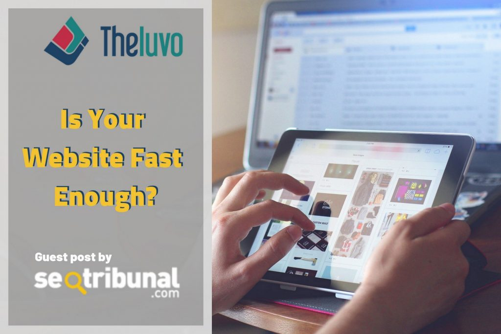 Is Your Website Fast Enough? (Infographic)