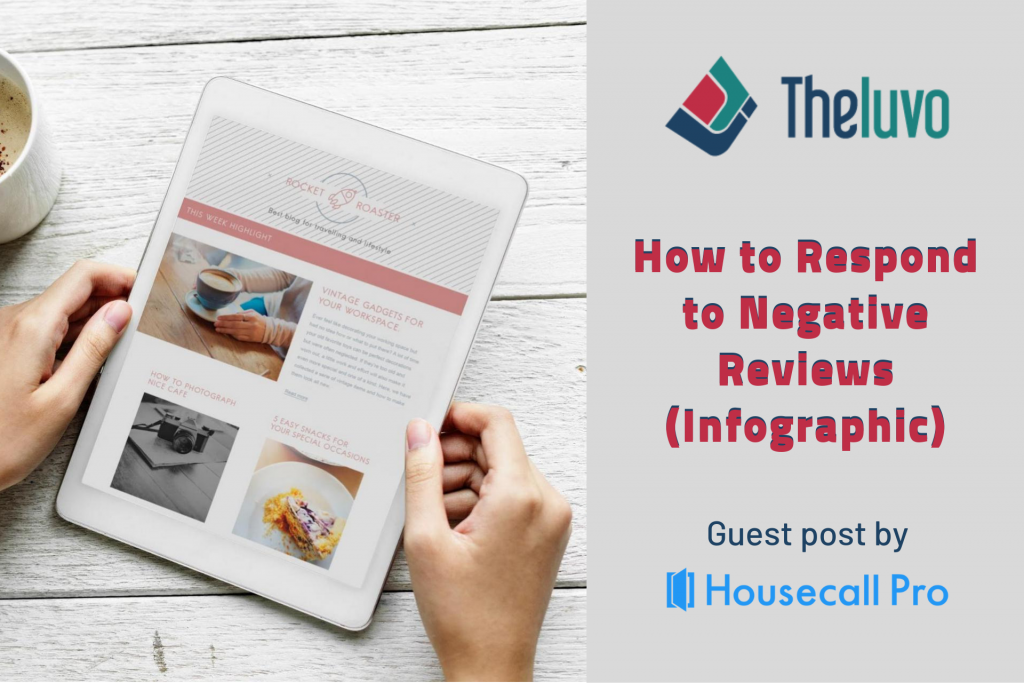 How to Respond to Negative Reviews (Infographic)