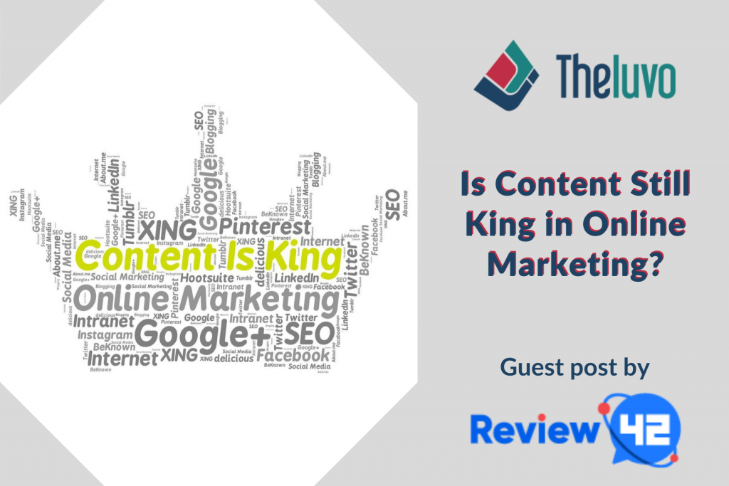 Is Content Still King in Online Marketing? (Infographic)