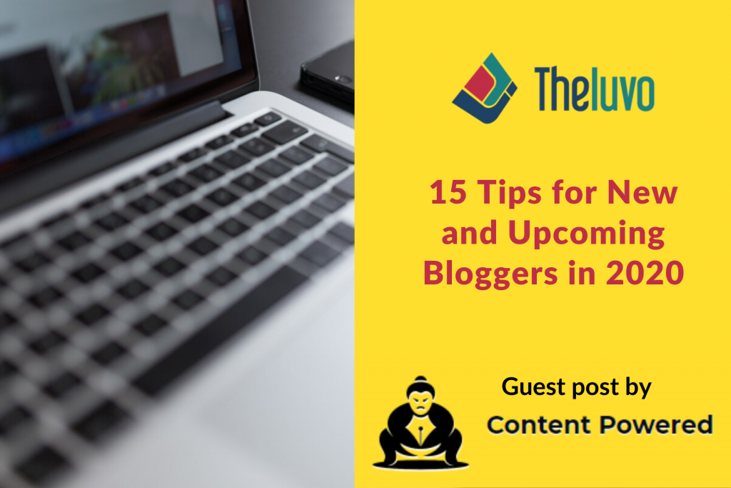 15 Tips for New and Upcoming Bloggers in 2020 (Infographic)